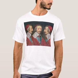 Triple Portrait of the Head of Richelieu, 1642 T-Shirt