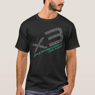 Triple range merge T-Shirt