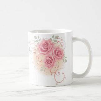 Triple Rose Coffee Mug