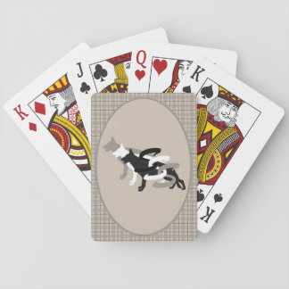 Triple S Shepherds logo playing cards
