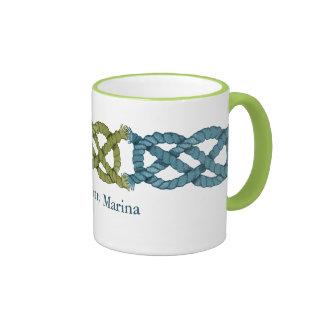 Triple Sailing Knots Mugs
