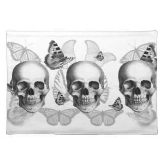 Triple Skull Placement Placemat