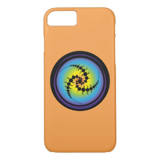 Triple Spiral Crop Circle iPhone 8/7 Case
