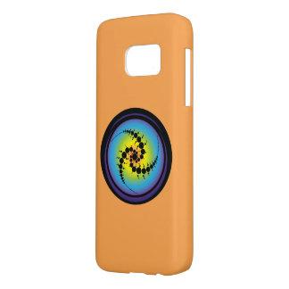 Triple Spiral Crop Circle Samsung Galaxy S7 Case