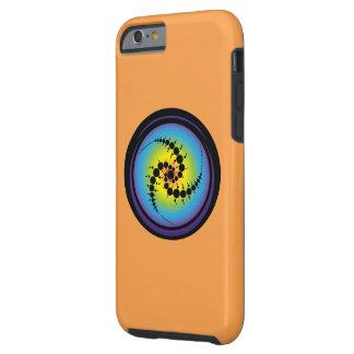 Triple Spiral Crop Circle Tough iPhone 6 Case