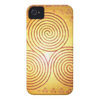 Triple Spiral Labyrinth Case-Mate iPhone 4 Case