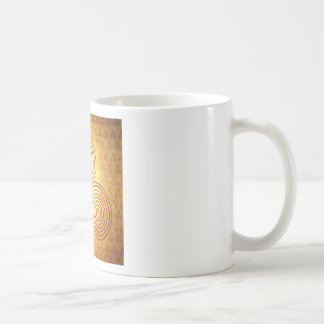 Triple Spiral Labyrinth Coffee Mug