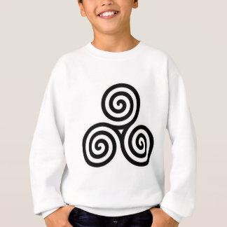 Triple Spiral Symbol Sweatshirt