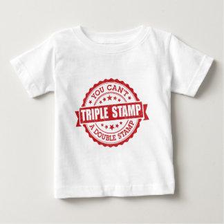 Triple Stamp Baby T-Shirt