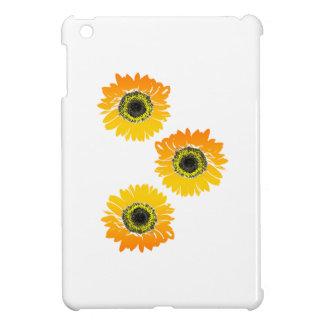 Triple Sunflowers iPad Mini Case