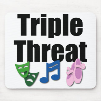 Triple Threat Mousepad