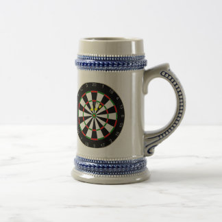 Triple Triple Twenty Dart Board Group Beer Mug