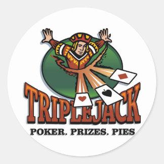 Triplejack Stickers