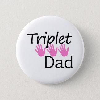 triplet dad button