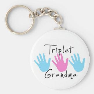 triplet grandma keychain bgb