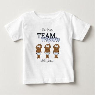 Triplets Baby T-Shirt