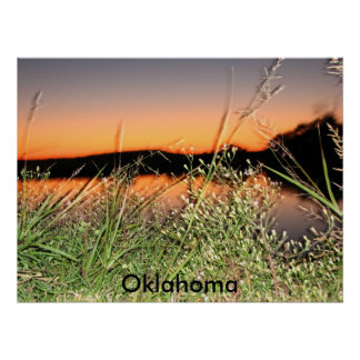 tripOct de camping., l'Oklahoma Affiche