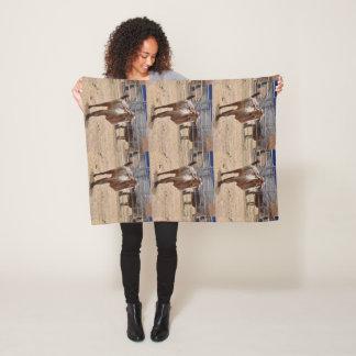 """Tripod"" Fleece Blanket"