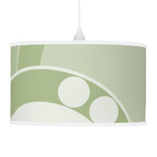 Tripod Lamp - Fern Frond in Green