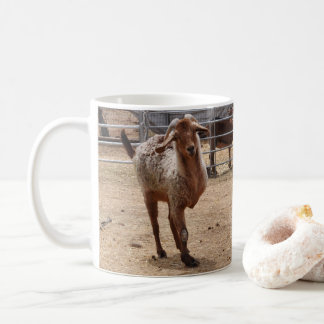 """Tripod"" Rescued Goat  Coffee Mug"