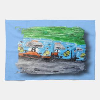 Tripolarize 917 - Artwork Jean Louis Glineur Kitchen Towel