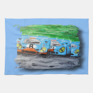 Tripolarize 917 - Artwork Jean Louis Glineur Towel