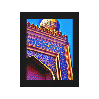 Tripoli Shrine Temple Canvas Print