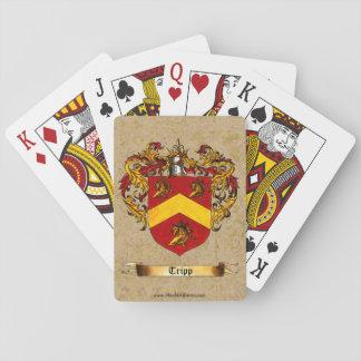 Tripp Shield of Arms Poker Deck
