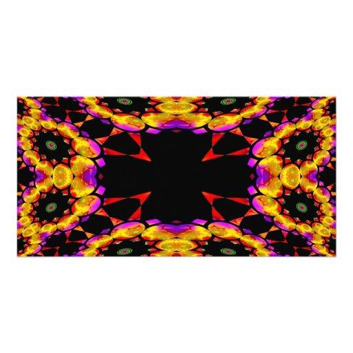 Trippin Kaleidoscope2 Photo Card