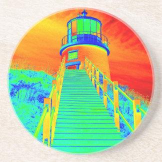 Trippin Seaside Beverage Coaster