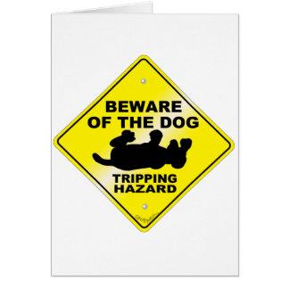 Tripping Hazard Card