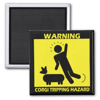 Tripping Hazard - Corgi Magnet