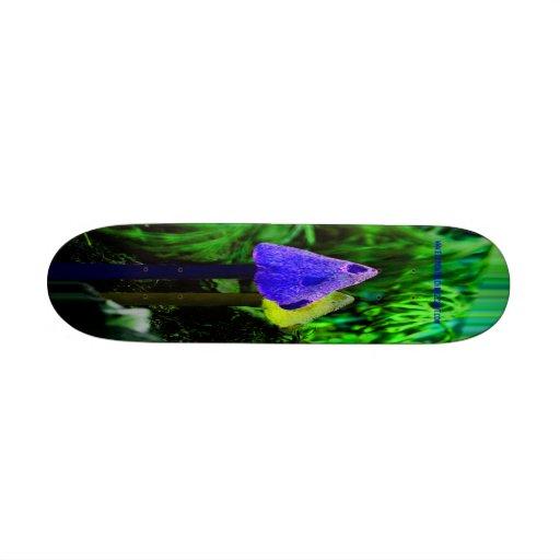 Tripping Shroom skateboard