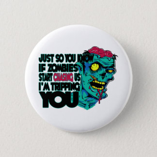 Tripping You 2 Inch Round Button
