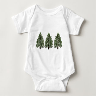 Tripple Pines Baby Bodysuit