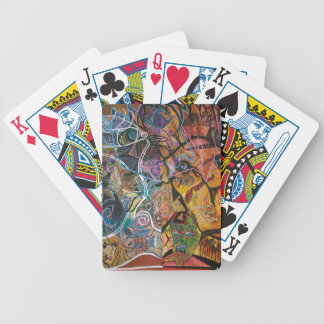 Trippy Acrylic Skin 2 Bicycle Playing Cards