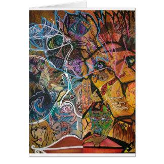 Trippy Acrylic Skin 2 Card