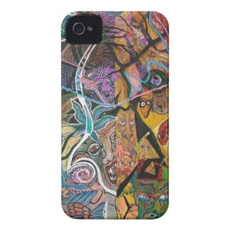 Trippy Acrylic Skin 2 iPhone 4 Case-Mate Case