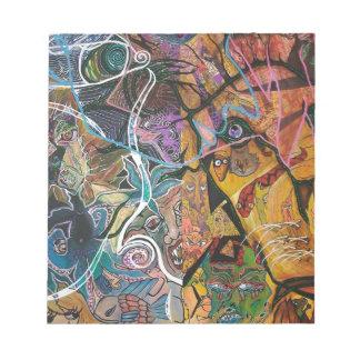 Trippy Acrylic Skin 2 Notepads