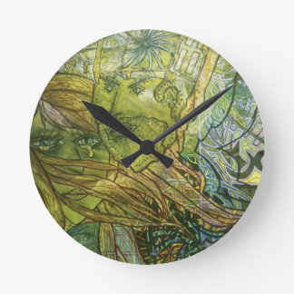 Trippy Acrylic Skin Clocks