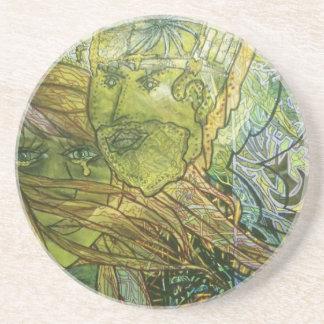 Trippy Acrylic Skin Coasters