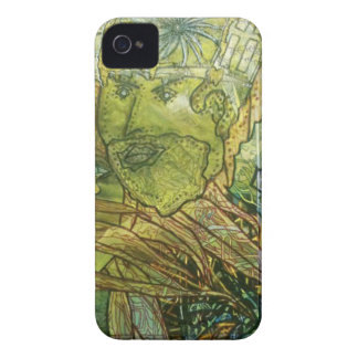 Trippy Acrylic Skin iPhone 4 Cases