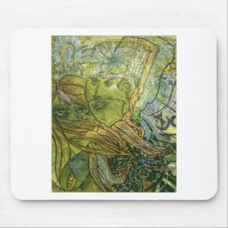 Trippy Acrylic Skin Mouse Pad