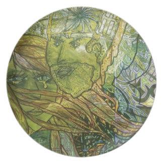 Trippy Acrylic Skin Plate
