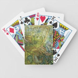 Trippy Acrylic Skin Poker Deck