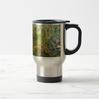 Trippy Acrylic Skin Travel Mug