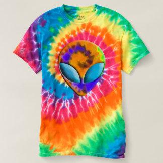 Trippy Alien Tie Dye T-shirt