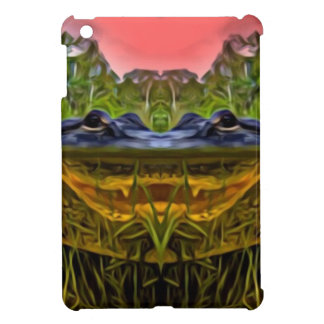 Trippy Alligator iPad Mini Covers