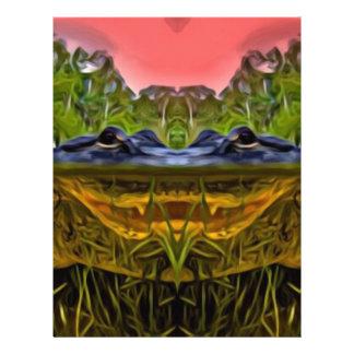 Trippy Alligator Letterhead