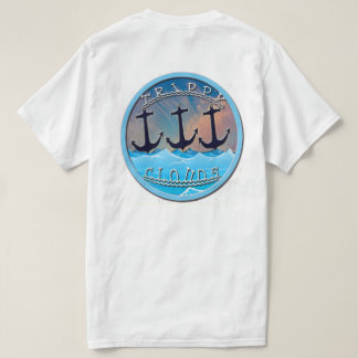 Trippy Anchor Tee In White